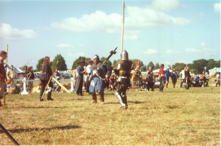 Fighting at Pennsic