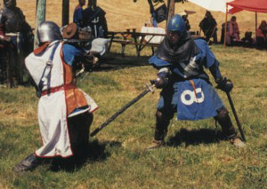 Fighting at Tourney 2001